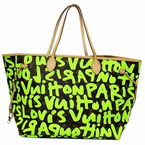 LOUIS VUITTON Neverfull GM Monogram Graffiti Bag